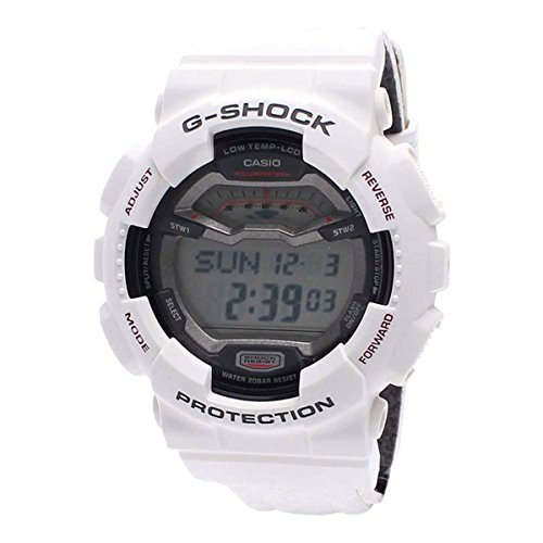 Casio GLS100-7 G-Shock G-Lide Winter Nylon White LTD Watch - Green Brown New Wave