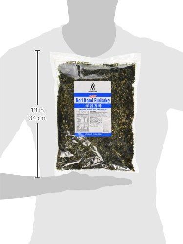 Nori Komi Furikake Seaweed Sesame Seed Seasoning 1 Pound (17.64 oz)