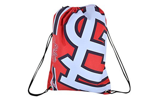 Official Major League Baseball Fan Shop Authentic Drawstring MLB Back Sack for Gym Tailgating or School (St. Louis - Shop Louis