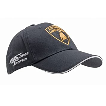 Lamborghini cap black  Amazon.co.uk  Sports   Outdoors c2e434e42e7