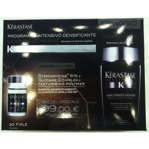 Kerastase - K Densifique Homme 6 x 30 ml y Bain densité homme 250 ml