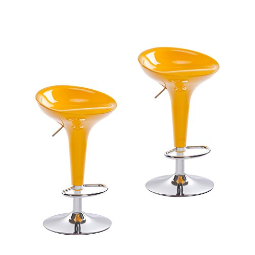 Yellow Modern Bar Stools