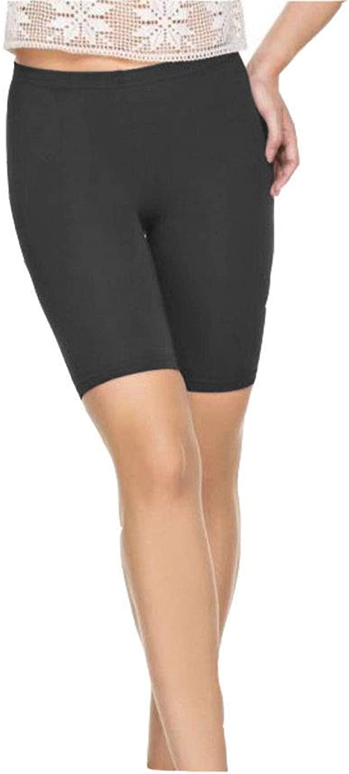 Papaval Cotton Girls Kids Elasticated Knee Stretch Cycling Shorts
