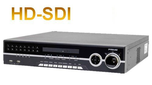 16 channel 112 fps @ 720P or 1080P HDMI UPH-Series H264 HD-SDI Standalone DVR: (optional DVD), VGA, Dual-Spot Out, Dual-Stream, Mac/Safari Compatible, 2-way Audio, POS, Multi-Language, IR Remote, Mouse, 1TB Hard Drive Installed