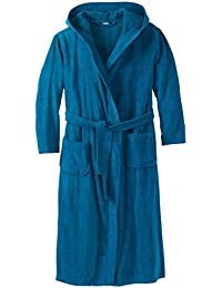 c430ced244 Men s Big   Tall Terry Velour Hooded Maxi Robe