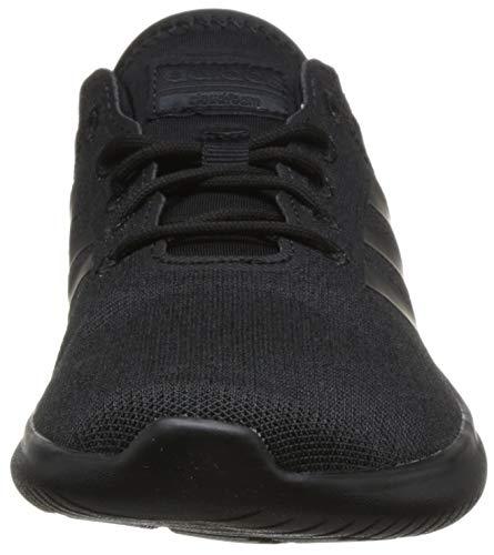 Running cblack Cloudfoam ftwwht Flex Qt ftwwht carbon Cblack Noir De carbon Chaussures Femme Adidas XwCqq