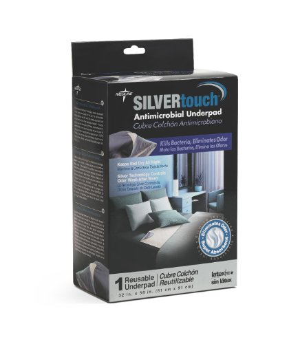 Medline MSC217044R SilverTouch Antimicrobial Underpads