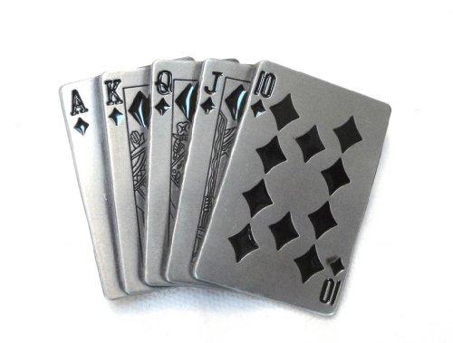 POKER ROYAL FLUSH Regular Design GAMBLING BELT ()
