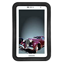 """Bobj Rugged Case for Samsung 7-inch Galaxy Tab 2 and Galaxy """"Tab Plus"""" Wi-Fi and 3G/4G Models (Not for Tab3) - BobjGear Protective Tablet Cover - Bold Black"""