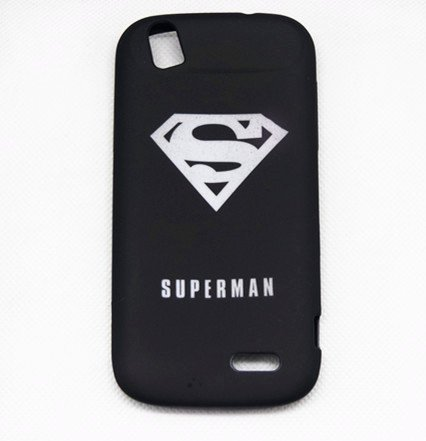 Superman Black Classic Cartoon Cool The Avengers Super Heroes Case Cover For (HTC Desire 610 , Superman)
