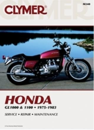 amazon com clymer repair manual for honda gl1000 gl1100 interstate rh amazon com 1983 honda goldwing aspencade service manual 1986 Honda Goldwing Aspencade