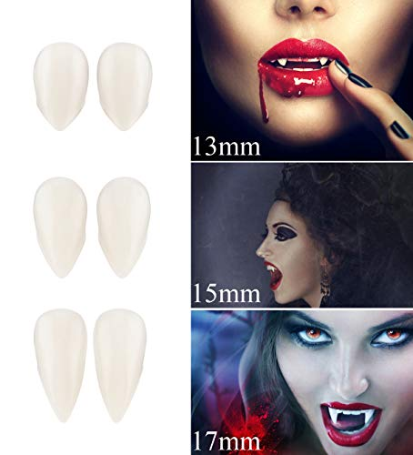 Vampire Fangs, Fntacetik Halloween Vampire Teeth Party Favor Prop Decoration Costume Accessory for $<!--$7.99-->