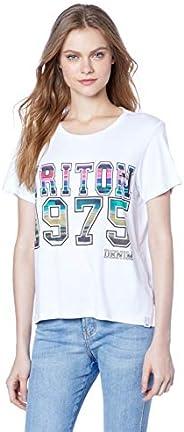 Camiseta Estampada, Triton, Feminino