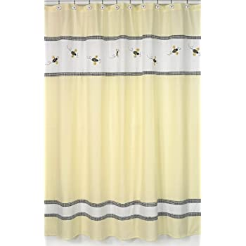Incroyable Bumble Bee Shower Curtain
