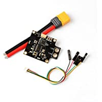 DZT1968 1pc Holybro PDB-OSD with 5V 12V 120A Output Power UBEC Distribution Board PDB+2 cable