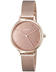Skagen Women's Anita SKW2413 Rose Gold Stainless-Steel Quartz Watch