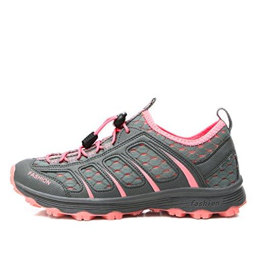 XIGUAFR - botas de caño bajo Unisex adulto rosa oscuro