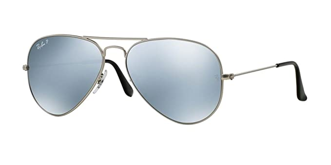 05da6a74df Amazon.com  Ray-Ban RB3025 Aviator Large Metal Polarized Unisex ...