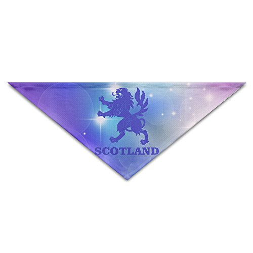 Pet Bandanas - Personalized Scotland Lion Rampant Pet Bandana Scarf - Triangle Scarf Collar Neckerchief For Dog (Commonwealth Games Costumes)