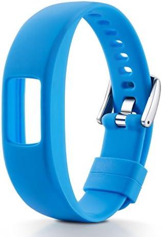 Huamecl for Garmin Vivofit 4 Watch BandSoft Silicone Sport Replacement Strap Band for Garmin Vivofit 4 Smart Watch