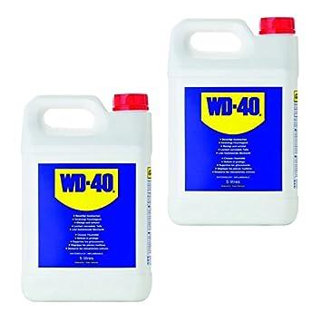 2 x 5 l=10 litros WD de 40 Grande para colectividades multifunktionsöl Aceite multifunción del Mucho Utilizar con Pray Lubricante óxido Kriechöl sprühöl ...