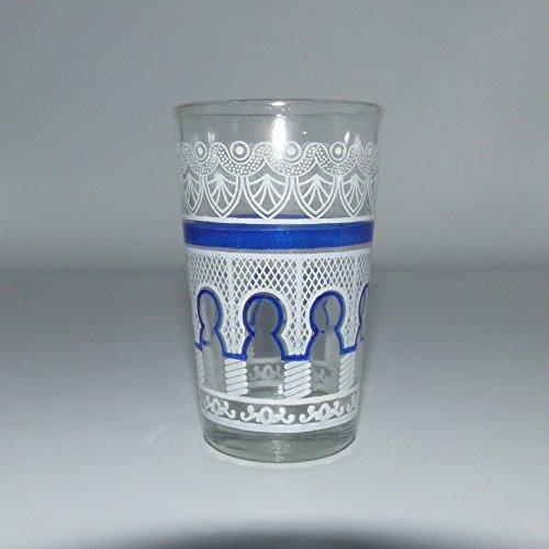vasos orientales de menta vaso de te Marruecos decoracion arabe - 905087-0152