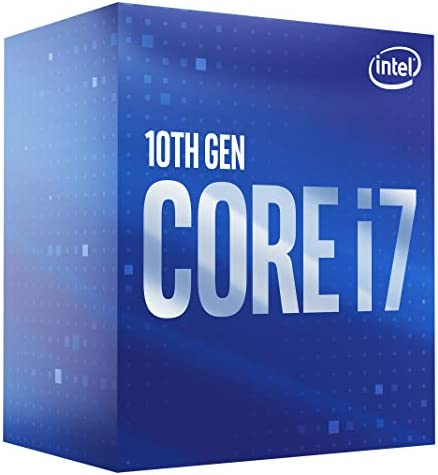 Intel Core i7-10700 Desktop Processor 8 Cores as much as 4.8 GHz LGA 1200 (Intel 400 Series Chipset) 65W, BX8070110700