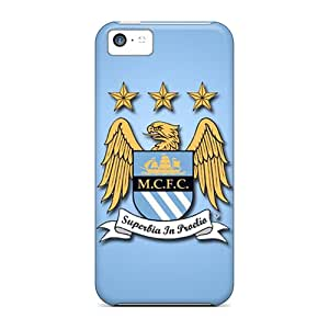 New Design Shatterproof Vga55472VmDq Cases For Iphone 5c (manchester City Fc)