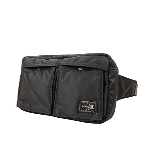 Yoshida Bag Porter Tanker Waist Bag 622-08723 Black from Japan d328b3430ba23