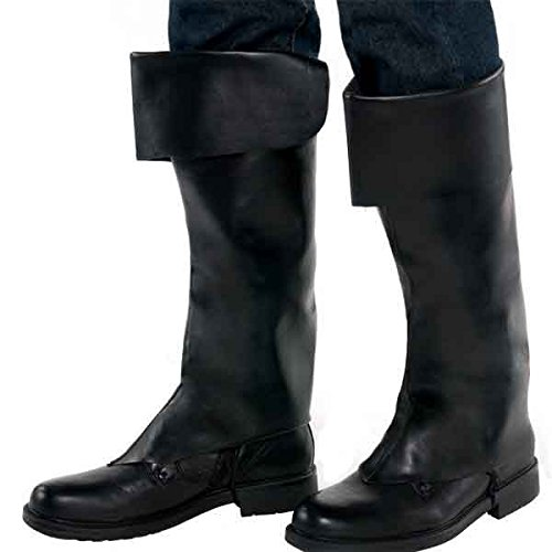AMSCAN Adult Pirate Boot Covers, Halloween Costume Accessories, One -