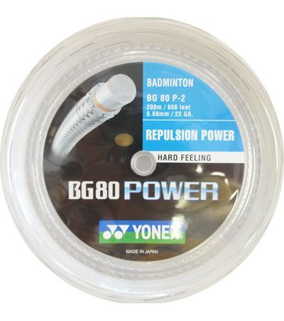 Yonex BG80 Power Badminton String 200m Reel