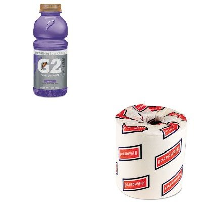 KITBWK6180QKR04060 - Value Kit - Gatorade G2 Perform 02 Low-Calorie Thirst Quencher (QKR04060) and White 2-Ply Toilet Tissue, 4.5quot; x 3quot; Sheet Size (BWK6180)