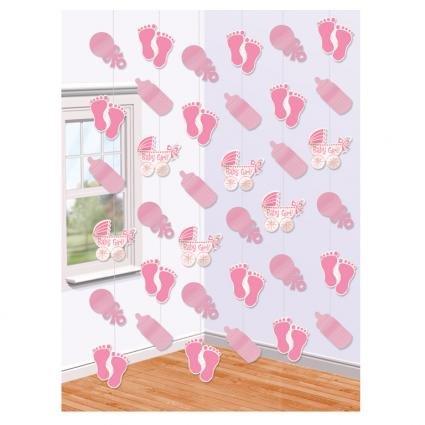 4 opinioni per Amscan- 6 Pendenti Decorativi- Nascita Bimba- Colore Rosa
