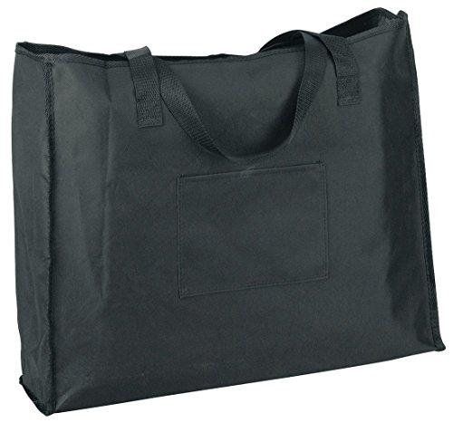 Markwort Wide Model Stadium Chair Bag, Black