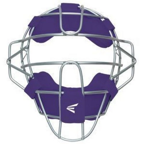 Baseball Catchers Headgear (Easton Speed Elite Traditional Catcher's Facemask, Purple)