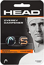 HEAD - SPORTING_GOODS - Head - HEAD Zverev Tennis Racket Vibration Dampener - Racquet String Shock Absorber, T