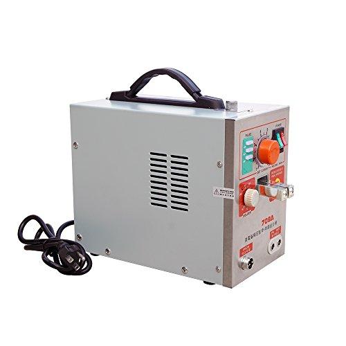 ECO LLC 110V 709A 1900W 60A Micro-computer Battery Spot Welder Welding Pedal Control