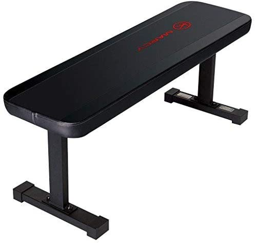 Best portable weight-bench: Marcy Flat Utility 600 lbs Capacity Weight Bench