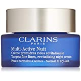 Clarins Multi-active Normal To Dry Skin Night Cream, 1.7 Ounces