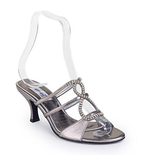 FARFALLA - Zapatos con correa de tobillo mujer Gris - gris