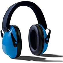 IVYRISE Good Sleep Kids Ear Safety Sound Insulation Earmuff Noise Resistance Ear Shield Foldable Headband for Working Shooting Hunting, Suit for Baby Toddlers Children