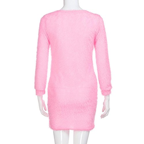 best loved 2f84d d9944 S-2XL] Damen Pulli Elegant Langarm T-Shirt Yogogo V ...