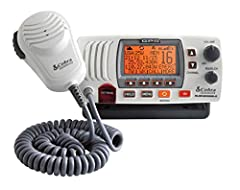 The Cobra MR F77 is a truly unique VHF radio with its large LCD display and an integrated GPS receiver making the radio ready out of the box to be a complete life saving solution. If a user sends a vessel Distress, their EXACT position will b...