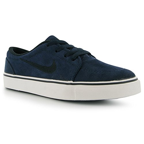 Nike SB Satire (GS) niños Trainers Obsidian/Black