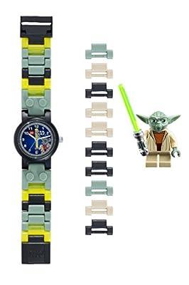 LEGO Quartz Plastic Watch, Color:Green (Model: 8020295)