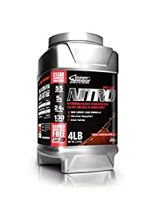 Inner Armour Nutritional Supplement Nitro-Peak, Chocolate, 4 Pound