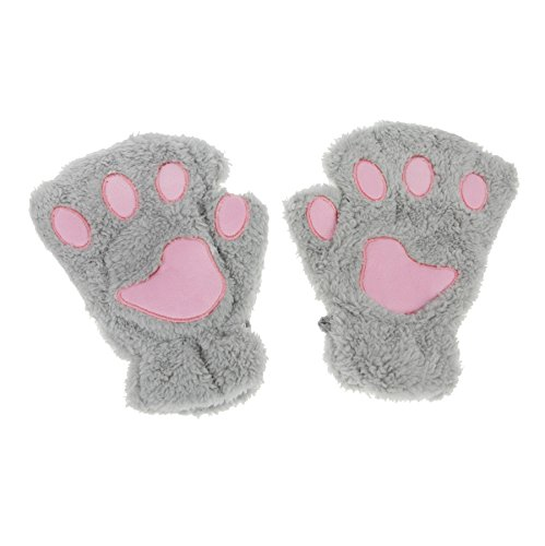 APAS Winter Fluffy Finger Mittens