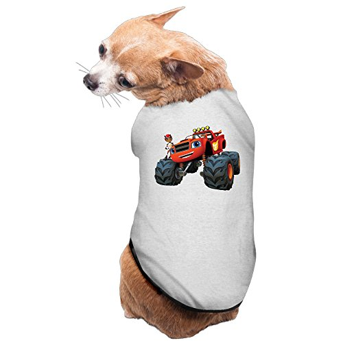 Charming Cozy AJ And Blaze Cartoon Dog Clothes Pet Costumes