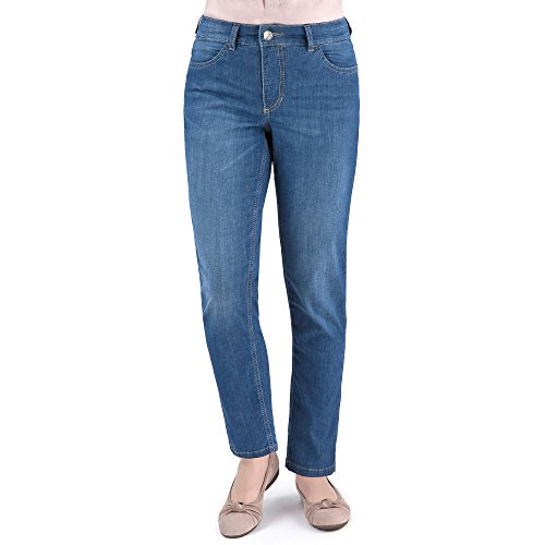 MAC Jeans - Femme Dunkelblau Denim