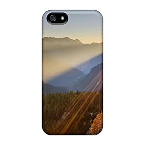 Protective Tpu Case With Fashion Design For Iphone 5/5s (gorgeous Sunrise)